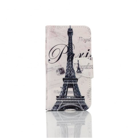 Store Knife and Draw Painted PU Phone Case for Samsung Galaxy A3 2016