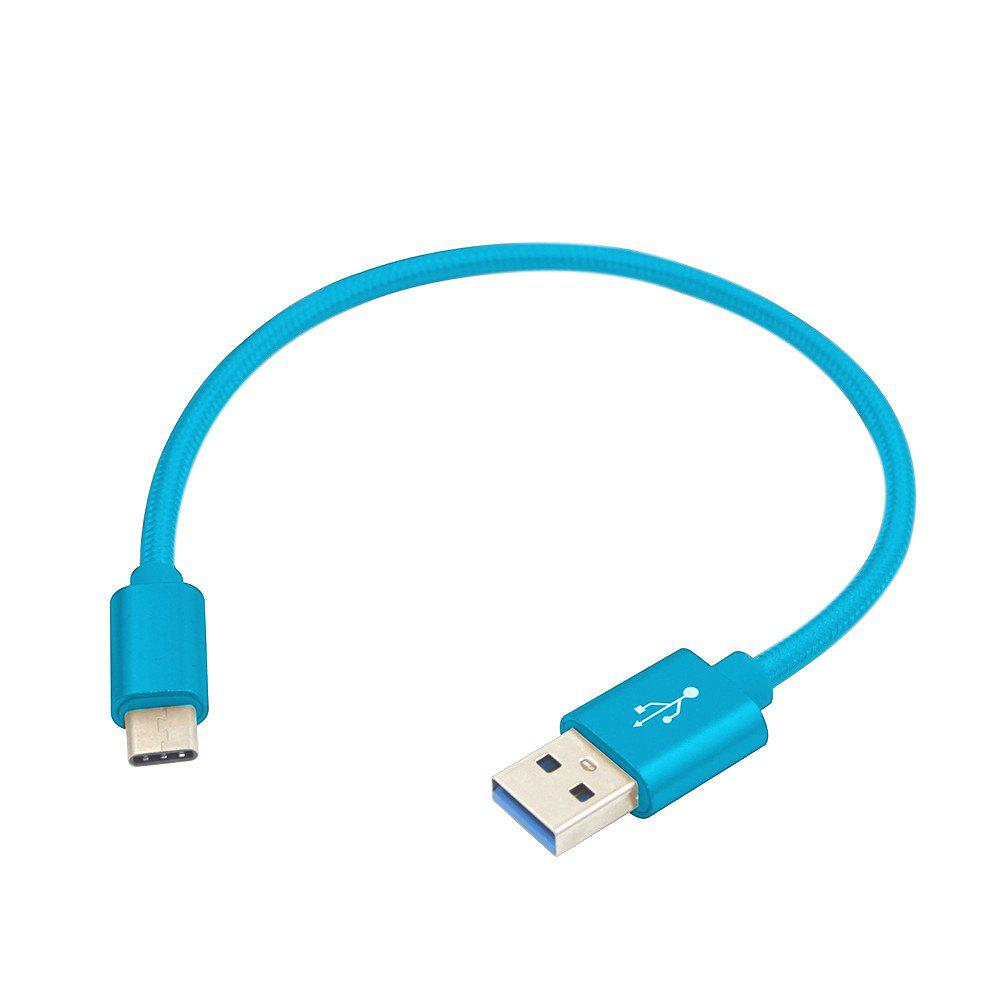 Usb 3.1 Type-C To Usb Charge Data Sync Cable 20CMHOME<br><br>Color: BLUE;