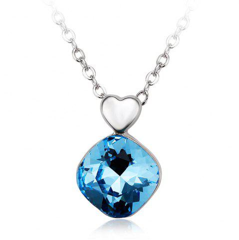 Buy Ouxi Crystal Pendant Necklaces Heart Shape Fashion Jewelry for Womens Girls
