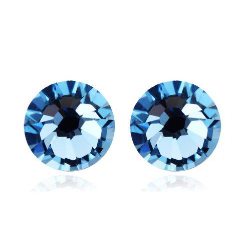 Latest New Swarovski Elements Round Studs Austrian Crystal Eyes Shape Earrings