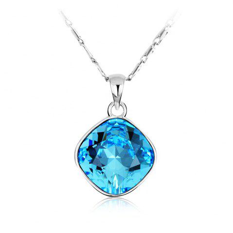 Store Crystals Round Necklaces pendants for Women Fashion Jewelry Birthday Best Friends Gifts