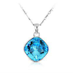 Crystals Round Necklaces pendants for Women Fashion Jewelry Birthday Best Friends Gifts -