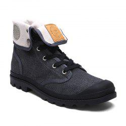 Ladies Canvas Boots Women'S Boots -