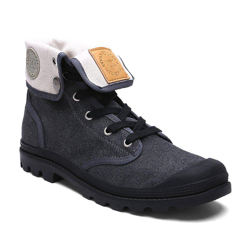 Trendy Ladies Canvas Boots Women'S Boots
