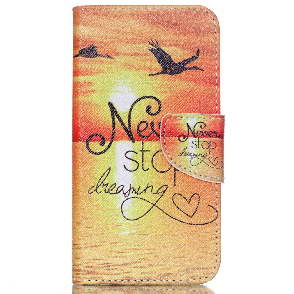 Sale Knife and Draw Painted PU Phone Case for Samsung Galaxy J5