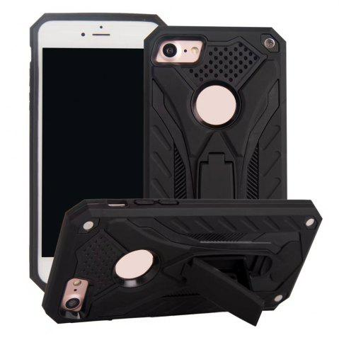 Hot Wkae Dual Layer Hybrid Armor Protective Cover Case with Kickstand for iPhone 7 / 8