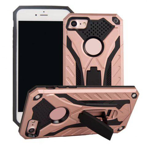 Fancy Wkae Dual Layer Hybrid Armor Protective Cover Case with Kickstand for iPhone 7 / 8