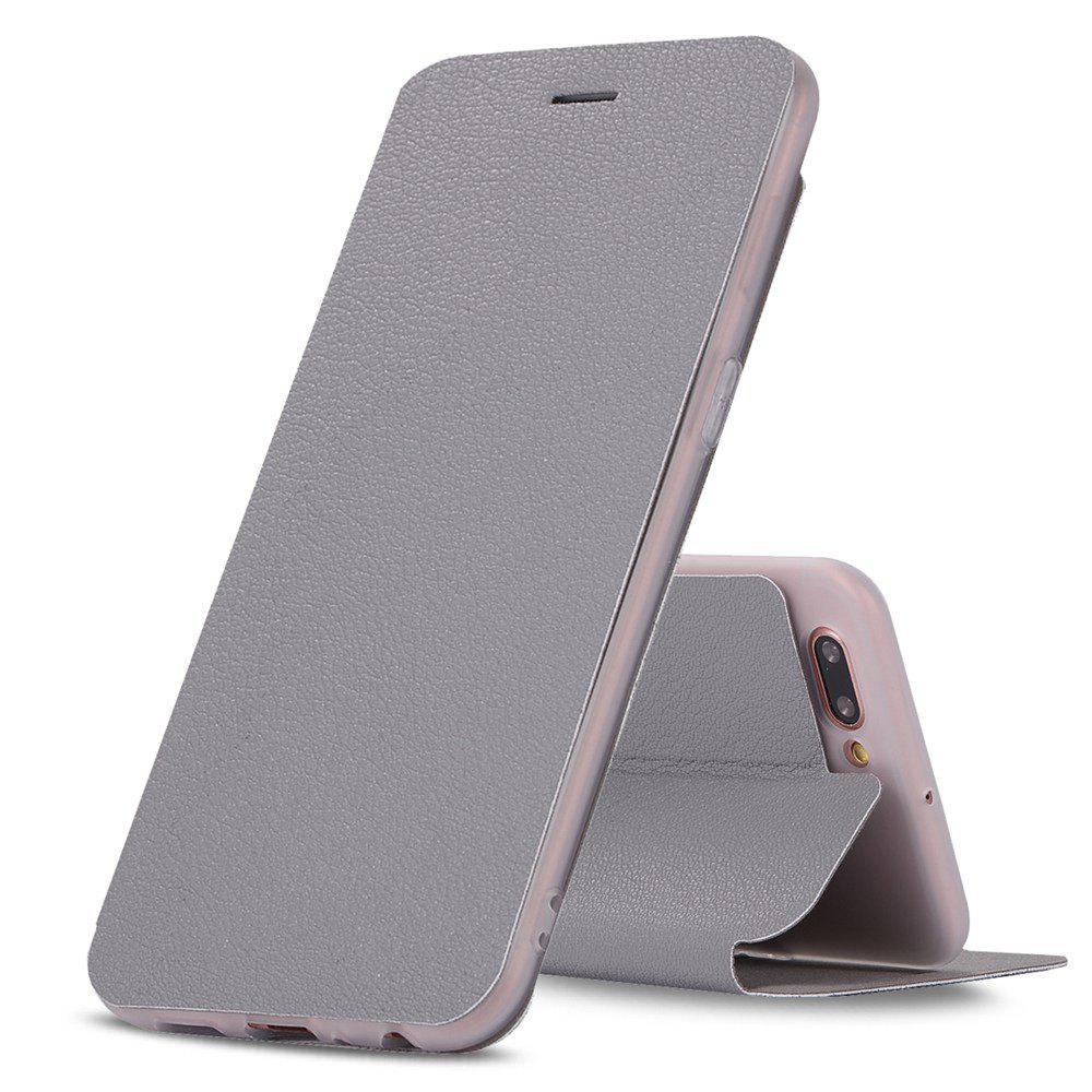 Trendy Colourful Textured Ultra-Slim Flip PU Leather Case for OPP0 R11