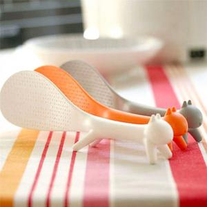 Cartoon Can Stand Squirrel Modelling Ladle -