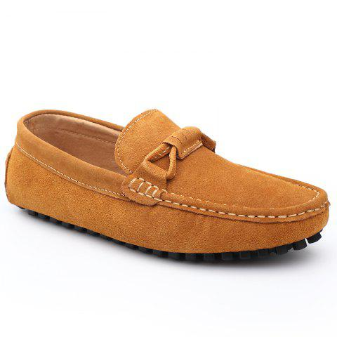 Hot The Fall of New Shoes Slip-On Doug Foot Soft Bottom Shoes Doug Comfortable Leather Men'S Shoes