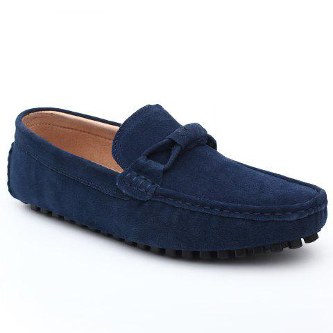 Chic The Fall of New Shoes Slip-On Doug Foot Soft Bottom Shoes Doug Comfortable Leather Men'S Shoes