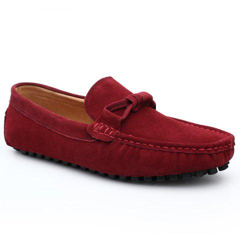 Outfit The Fall of New Shoes Slip-On Doug Foot Soft Bottom Shoes Doug Comfortable Leather Men'S Shoes