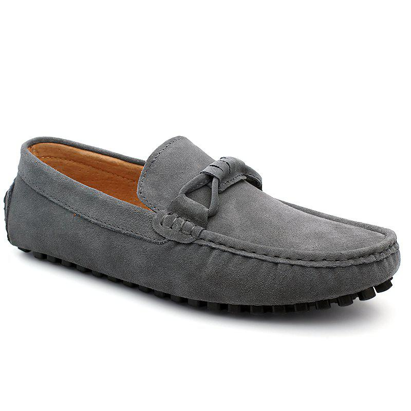 Fancy The Fall of New Shoes Slip-On Doug Foot Soft Bottom Shoes Doug Comfortable Leather Men'S Shoes