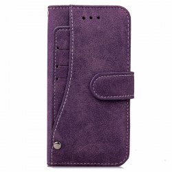 Yc Rotate The Card Lanyard Pu Leather for iPhone 7 Plus -