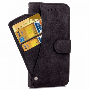 YC Rotate the Card Lanyard Pu Leather for iPhone 8 Plus -
