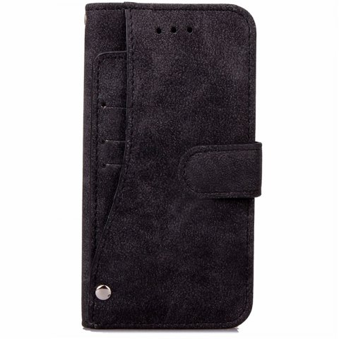 Latest YC Rotate the Card Lanyard Pu Leather for iPhone 8 Plus