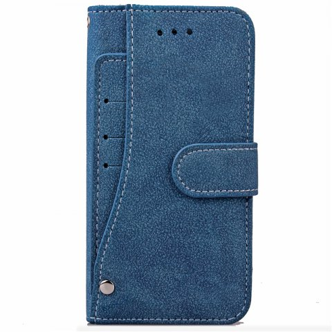 Hot YC Rotate the Card Lanyard Pu Leather for iPhone 8 Plus