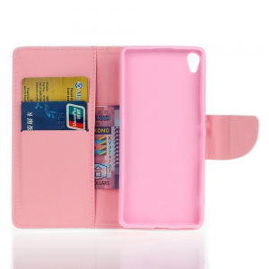 Dandelion Knife et Cut Color Housse de protection pour Sony Xa -