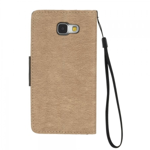 Hit Color PU Phone Case for Samsung Galaxy A3 2016 -