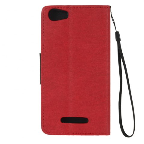 Store Hit Color PU Phone Case for Wiko Lenny 2