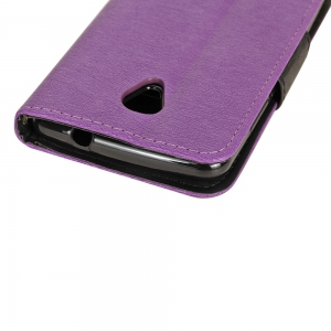 Hit Color PU Phone Case for Acer Liquid Zest Z525 -