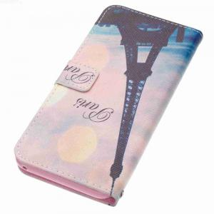 Leaning Tower Painted PU Phone Case for Samsung Galaxy S8 Plus -