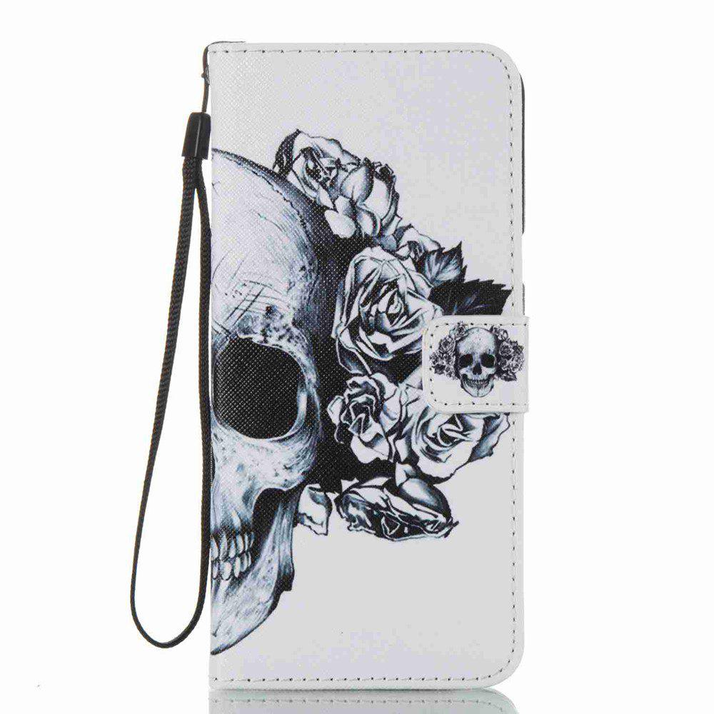 Affordable Skeleton Painted PU Phone Case for Samsung Galaxy S8 Plus