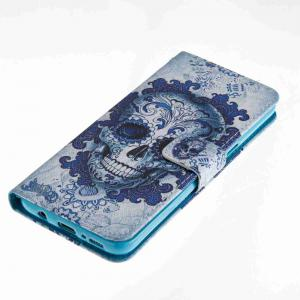 Cloud Ghost Head Painted PU Phone Case for Samsung Galaxy S8 -