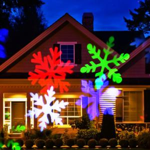 Supli Outdoor Christmas Projector Lights Multicolor Projecteur Projecteur à Projection Lumière Projecteur Projectile-10pcs -
