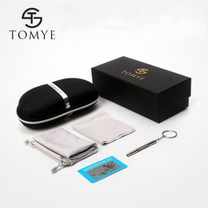 TOMYE 8530 Sports Polarized Lens  for Men and Women High-Definition Outdoor Cycling Sunglasses - SILVER FRAME+GREY LENS
