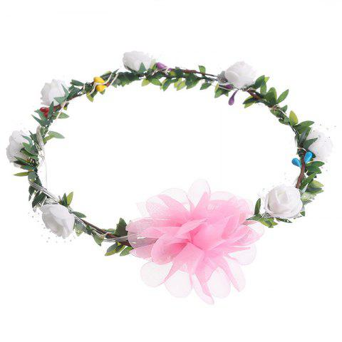 Store AY - hq208 Rose Flower Hairband Bridesmaid Wreaths for Party