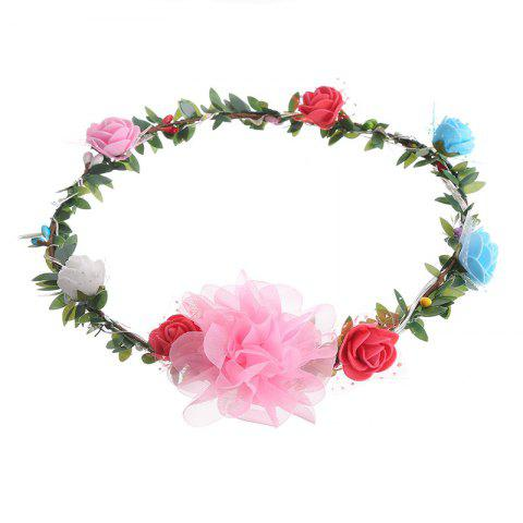 New AY - hq208 Rose Flower Hairband Bridesmaid Wreaths for Party