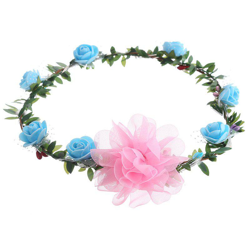 Cheap AY - hq208 Rose Flower Hairband Bridesmaid Wreaths for Party