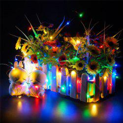 AY - hq215 10M 100 LED Copper String Lights for Christmas Decoration -