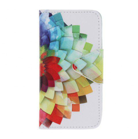 Latest Triangle Button Painted PU Phone Case for Iphone 5 / 5S / Se