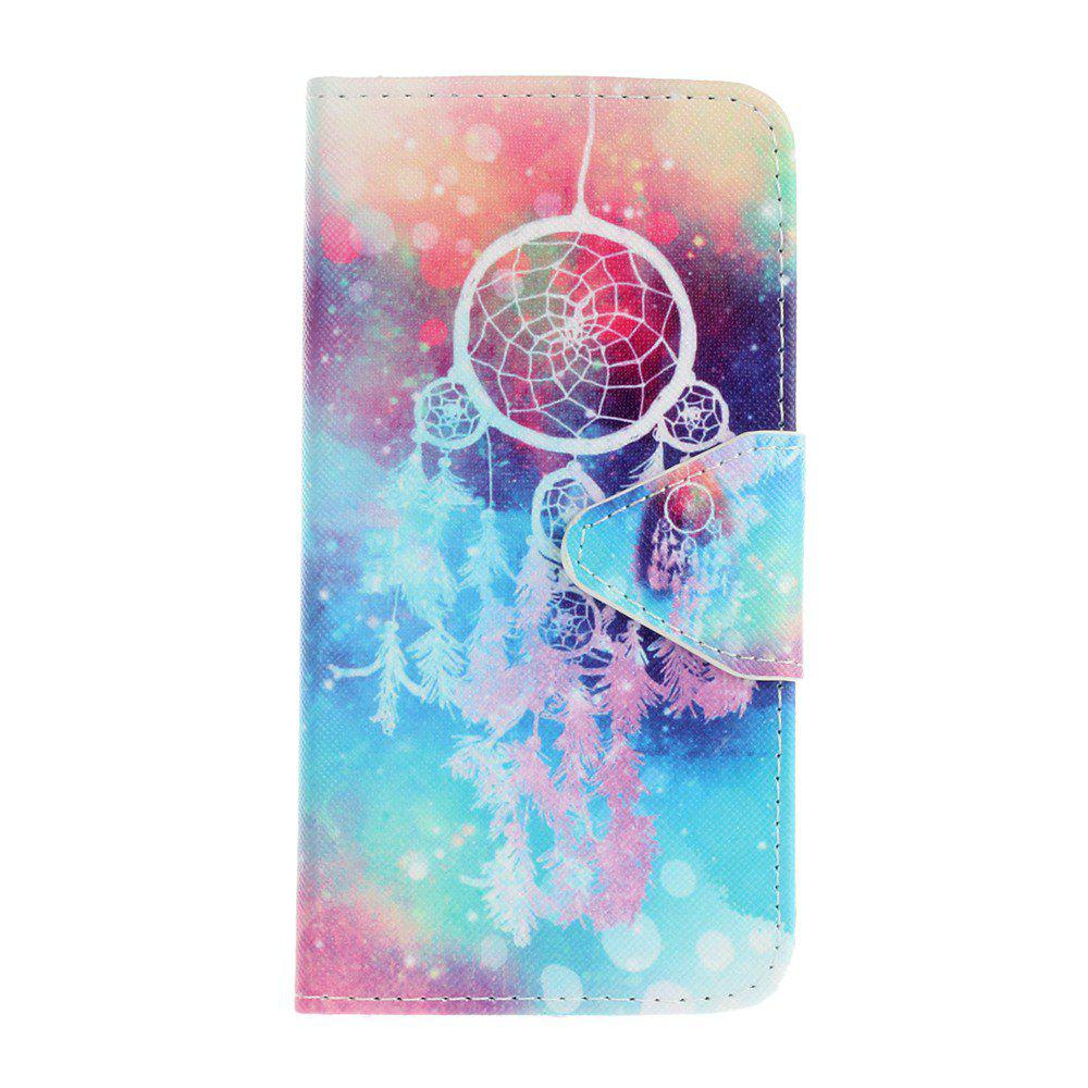 Fancy Triangle Button Painted PU Phone Case for Samsung Galaxy A3 2016