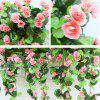 1 Bouquet Begonia Wall Mounted Artificial Flower Home Decoration -