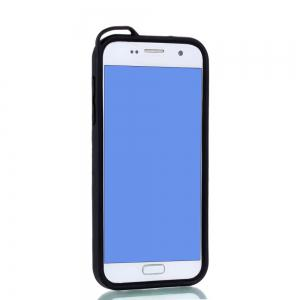 Wkae Ultra Thin Dual Layer PC Soft TPU Back Protective Cover Case with Kickstand for Samsung Galaxy S7 -