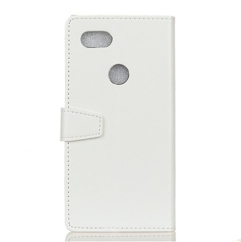Fashion Wkae Crystal Grain Texture Synthetic Leather Stand Case Cover with Kickstand Card Slots for Google PIXEL 2 XL