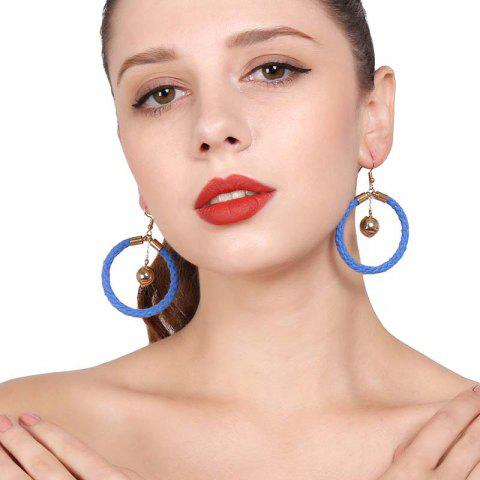 Shops Original Design Cotton Knit Ring Earrings