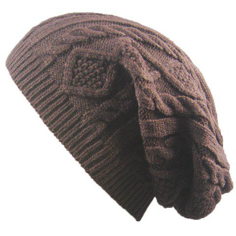 Best Winter Cap Small Twist Knitted Hats Europe and The United States Outdoor Men and Women Leisure Sets of Wool Hat