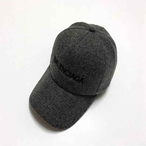 Buy Autumn and Winter Solid Color Baseball Hat Wool Blended Twist It Ugly Hat Men and Women Lovers Hat Outdoor Warm OYSTER