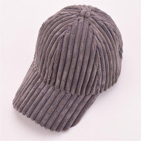 Hot Autumn and Winter Corduroy Baseball Cap Men and Women Fashion Cap Warm Fashion