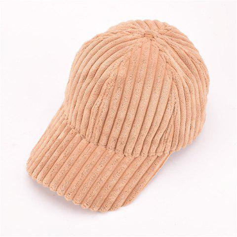Sale Autumn and Winter Corduroy Baseball Cap Men and Women Fashion Cap Warm Fashion