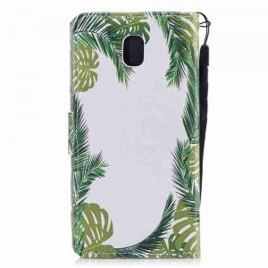 Classic Painted Pu Phone Case for Samsung Galaxy J730 -