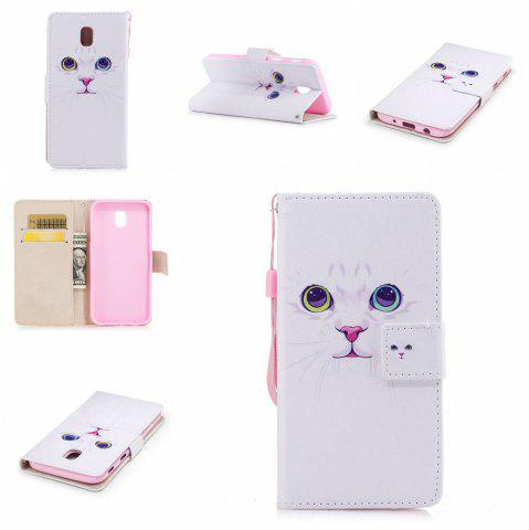 Best Classic Painted Pu Phone Case for Samsung Galaxy J730