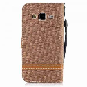 Mix Color Jeans Phone Case for Samsung Galaxy J3 2016 / J3 2015 -