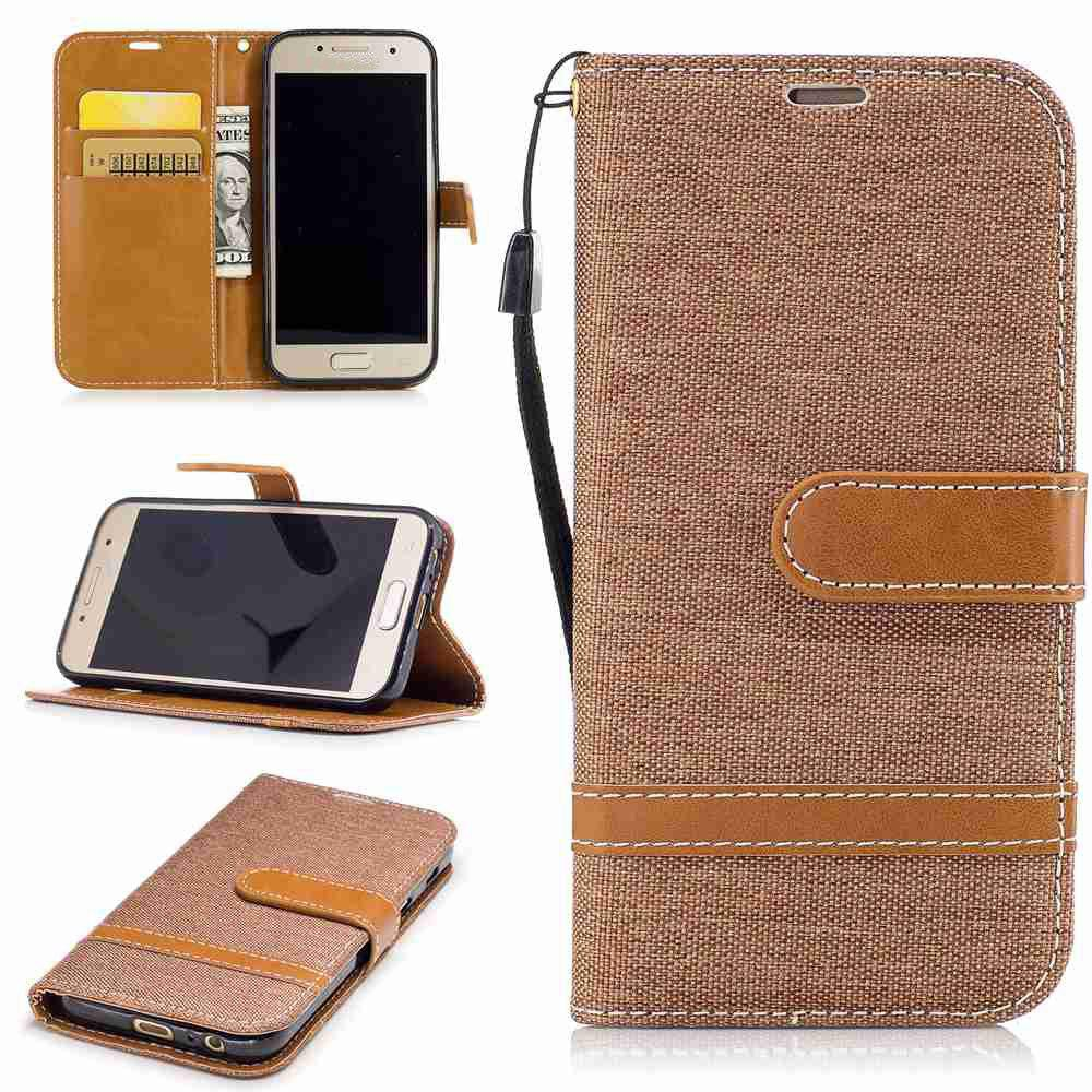 Chic Mix Color Jeans Phone Case for Samsung Galaxy J3 2016 / J3 2015