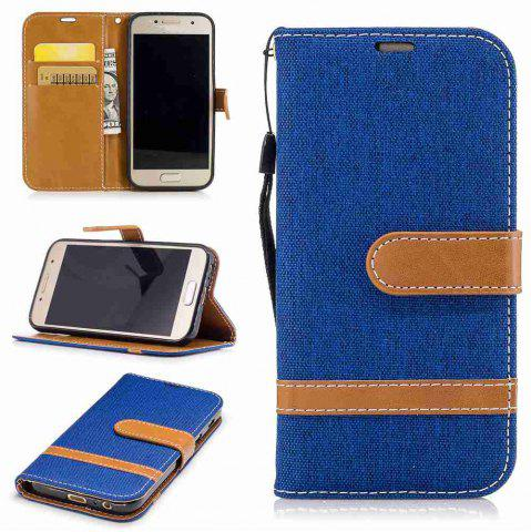 Cheap Mix color Jeans Phone Case for Samsung Galaxy A5 2017