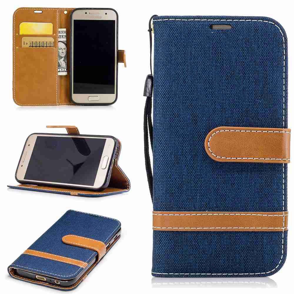 Hot Mix color Jeans Phone Case for Samsung Galaxy A5 2017
